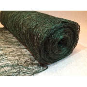 Сизалевое полотно (сизаль)  50х100см зеленый темный