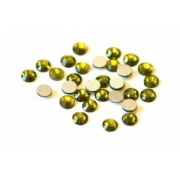 Термоклеевые стразы Zlatka 4.7 мм оливковый (144 шт.)