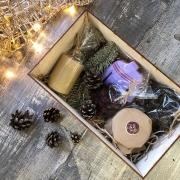 """Подарочный набор в коробке """"Зимний5"""""""