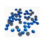 Термоклеевые стразы Zlatka RS SS30 Crystal 6.5 мм темно-голубой (144 шт.)