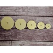 Диски для игрушек из оргалита 45 мм (2 шт.)