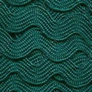 Лента вьюнчик (зигзаг) 5 мм морская волна 041 (4 метра)
