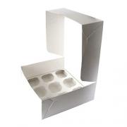 Коробка для 9 капкейков 25х25х10см (1шт.)