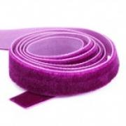 Лента бархатная 12 мм светло-фиолетовая 142 (1м)