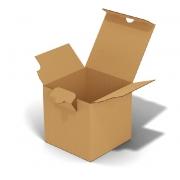 Коробка самосборная 11х11х11см