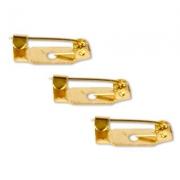 Заготовка для броши DC-308 1.5 см (5 шт.) под золото