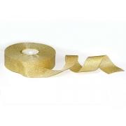 Лента металлизированная парчовая MR-25 25мм золото