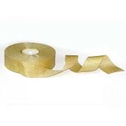 Лента металлизированная парчовая MR-50 50мм (2 метра) золото