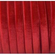 Лента бархатная VR-06 6 мм красная 026 (2м)