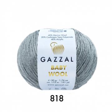 Пряжа Baby Wooll Gazzal 818 (Турция)