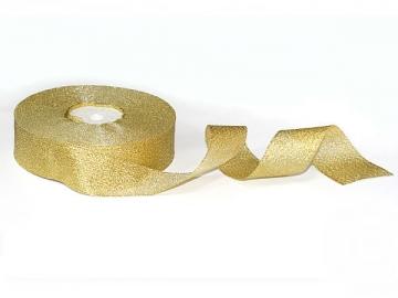 Лента металлизированная MR-30 30мм (2 метра) золото